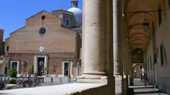 Padua - The Cathedral Stock Footage