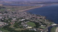 St Andrews aerial Stock Footage