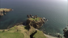 Dunnottar Castle Stock Footage
