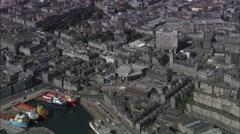 Aberdeen City Centre Stock Footage