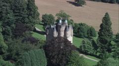Craigievar Castle Stock Footage