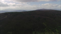 Eastern Side Of The Cairngorms Stock Footage