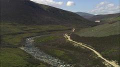 River Avon (North Of Braemar) Stock Footage