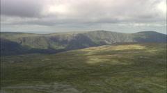 Cairngorms - Loch Einich Revealed Stock Footage
