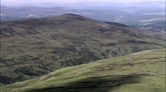 Monadhliath Mountains To Loch Mhor Stock Footage