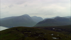 Highlands aerial Stock Footage