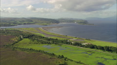 Oban Airfield Stock Footage