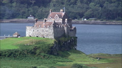 Duart Castle Stock Footage