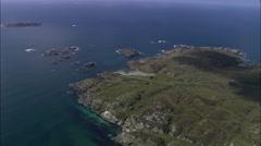 Iona aerial Stock Footage