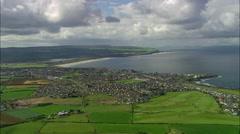 Portstewart And Beach Stock Footage