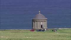 Mussendon Temple Stock Footage