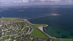 Galway aerial Stock Footage