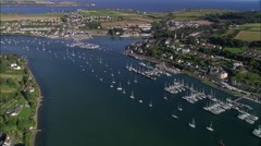 Crosshaven Marina Stock Footage
