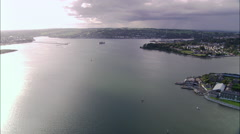 Cork Harbour Stock Footage