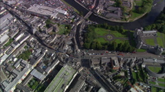 Kilkenny aerial Stock Footage