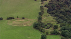 Ancient Hill Fort Of Tara Stock Footage