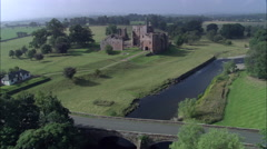 Brougham Castle Stock Footage