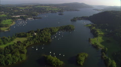 Lake Windermere Stock Footage