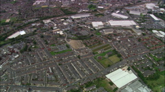 Demolition Area Of Blackburn Stock Footage