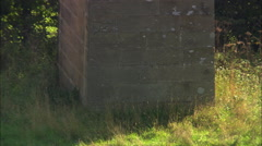 Pontcycllte Aqueduct With Cs Pillar And Climb To Barge Stock Footage
