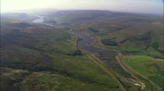 Longdendale Reservoirs Stock Footage