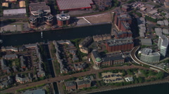 Salford Quays Stock Footage