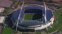 Bolton Football Club Stadium Stock Footage