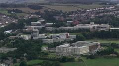 Aberystwyth aerial Stock Footage