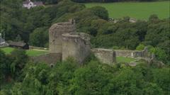 Cilgerran Castle Stock Footage