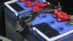 Battery Care & Maintenance Stock Footage