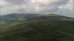 Low Over Preseli Mountains Stock Footage