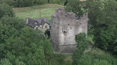 Longtown Castle Stock Footage