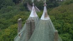 Castel Coch Stock Footage