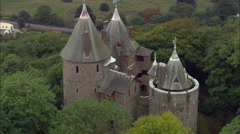 Castel Coch Stock Footage