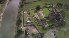 Tintern Abbey Stock Footage