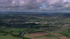 Monmouth In Wide Shot Stock Footage