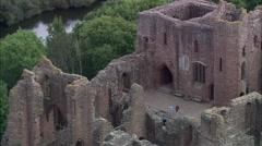 Goodrich Castle Stock Footage