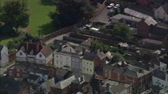 Leominster aerial Stock Footage