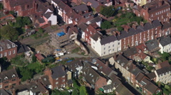 Ludlow aerial Stock Footage