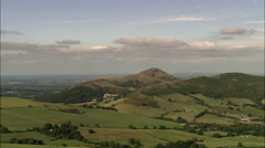 Hills By Church Stretton Stock Footage