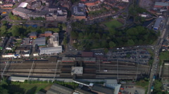 Stafford aerial Stock Footage