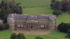Luton Hoo House Stock Footage