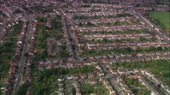 Luton aerial Stock Footage