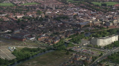 Bedford aerial Stock Footage
