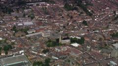Wellingborough aerial Stock Footage