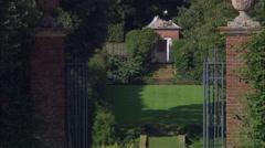 Hidcote Garden Stock Footage