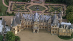 Waddesdon House Stock Footage