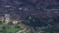 Aylesbury aerial Stock Footage