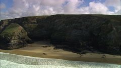 Bedruthan Steps Stock Footage