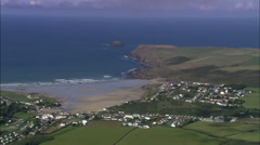 Padstow Bay Stock Footage